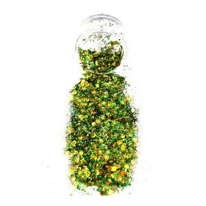 Green Gold Body Glitter pot