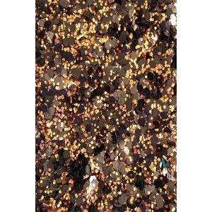 Dark Brown-Hexa Black Chunky Body glitter