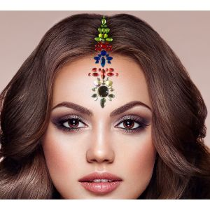 Multi-Color Hair Jewels