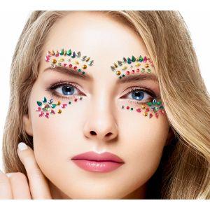 Pastel Gems Face Jewel