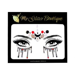 Glittery Eyes Face Jewels