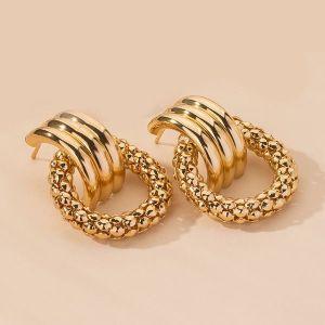 Geometric Creative Earrings