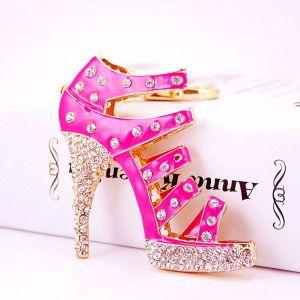 Pink High Heels Keychain
