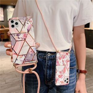 Geometric Floral Mobile Phone Case For Apple 11