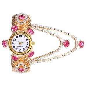 Pink Tassel Quartz Watch