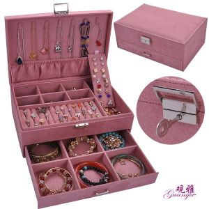 Pink Multi-layer Storage Box