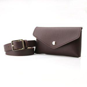 Brown Small Pocket Belt