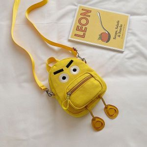 Travel Small Backpack Yellow