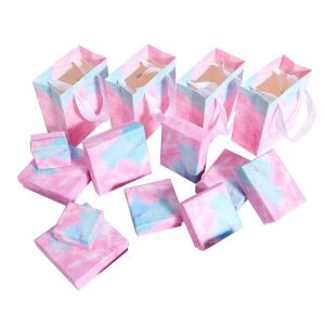 Gift Jewelry Packaging 9*9*3cm