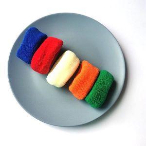5 Pieces Scrunchies Set