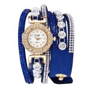 Royal Blue Diamond Bracelet Watch