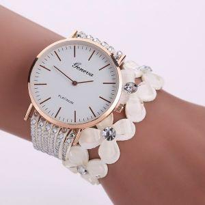White Casual Wrist Watch