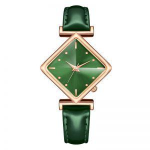 Green Ladies Belt Watch