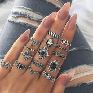 Silver Multi-Pack Ring Set