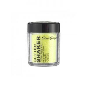 Yellow stargazer UV Glitter Shakers