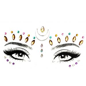 MGB Multi Coloured Self Adhesive Face Jewels