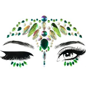 Shemrock Crown Face Jewel