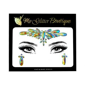 Glow In The Dark Iridescent Face & Eyes Jewels