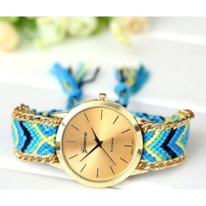 Braided Belt Bracelet Watch