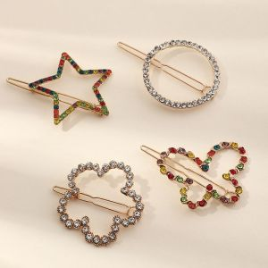 Rhinestone Fashion New Side Clip Set
