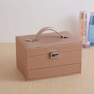 Three-layer Automatic Drawer Fashion Jewellery Box