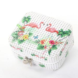 Jewellery Box Trumpet Portable Flamingo