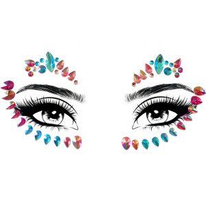 Pastel pink Face Gems