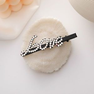 Diamond Letter Hairpin LOVE