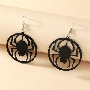 Acrylic Spider Earrings