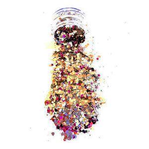 Small Chunky Assorted Glitter Pot