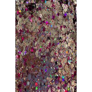 Silver Hot Pink Body Glitter