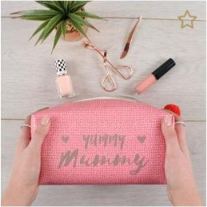 Yummy Mummy Cube Makeup Bag