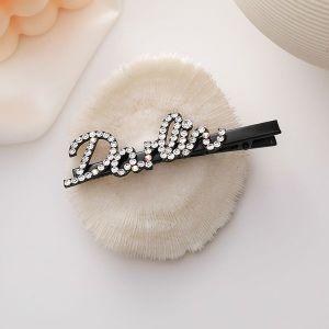 Diamond Letter Hairpin DARLIN