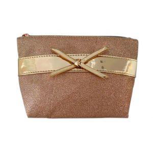 Rose Gold Accessory Bag