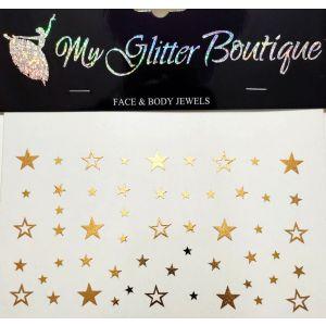 MGB Gold Star Freskles Stickers
