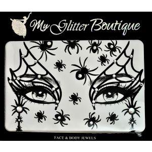 MGB  Halloween Spider Web Stickers