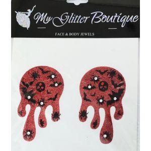 MGB Glitter Blood Pasties