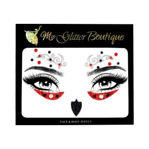 Halloween Glitter Gems Face Jewels