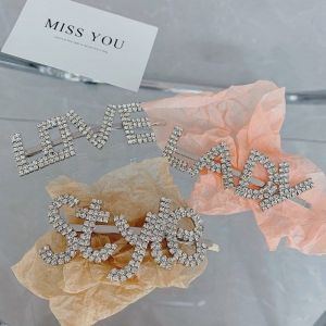 LADY Letter Hairpin