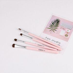 Pink Four Sets Makeup Brushes