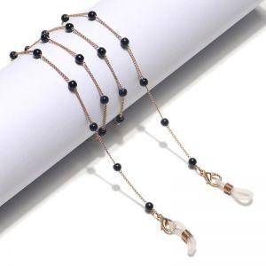 Black Pearl Glasses Chain