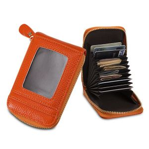 Multi Card Position Zipper Coin Purse