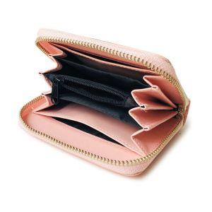 Pink Small Wallet Zipper