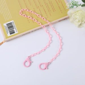 Pink Glasses Chain