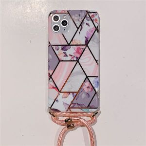 Geometric Floral Mobile Phone Case For Apple 11 Pro