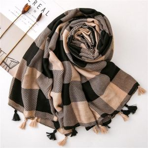 Cotton And Linen Scarf
