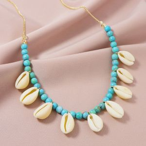 Stone Shell Women' Necklace