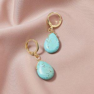 Fashion Natural Stone Earrings