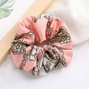 Retro Fabric Scrunchies Pink