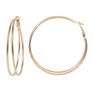 Circle Earrings Fashion Metal Earrings